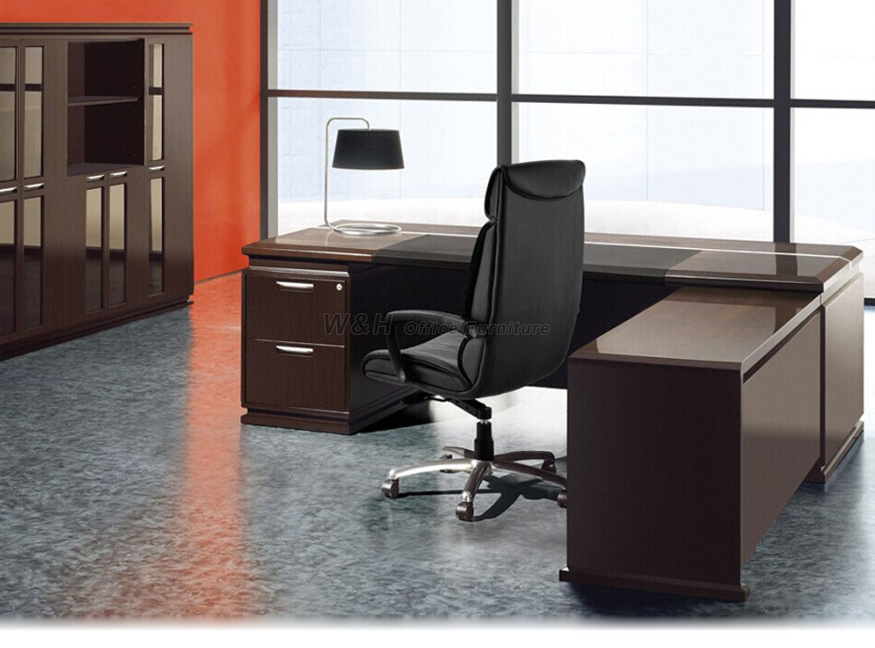 luxury wooden office desk