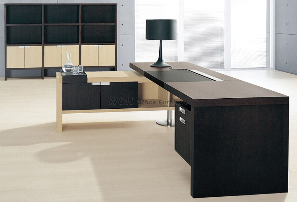 Stylish modern office desk