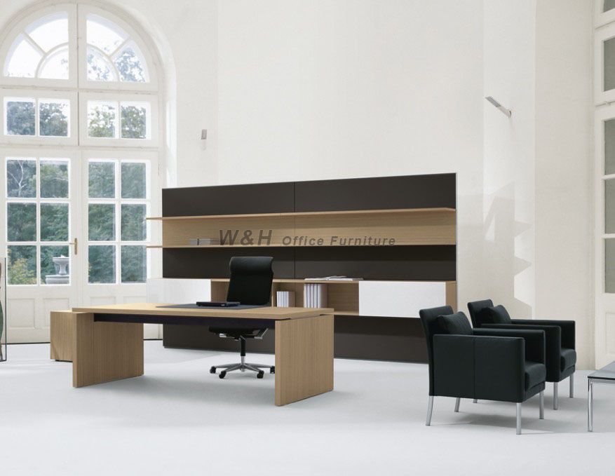 Modern series manager wooden office desk