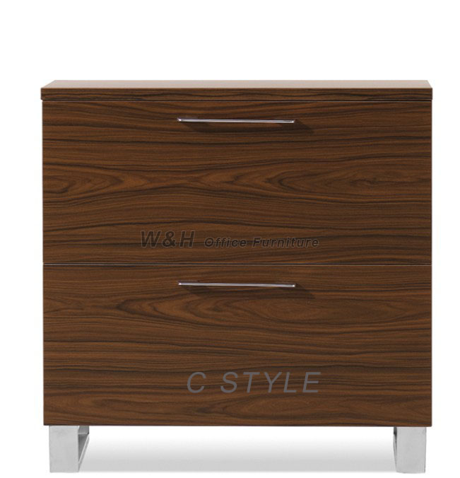 wooden eight doors office file cabinet