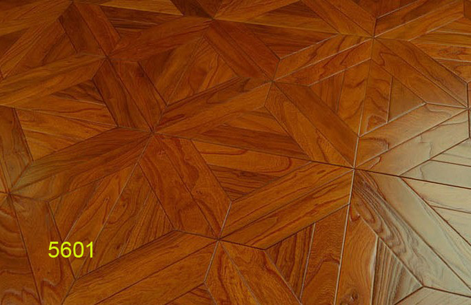 European-style flower stitching engineered hardwood flooring