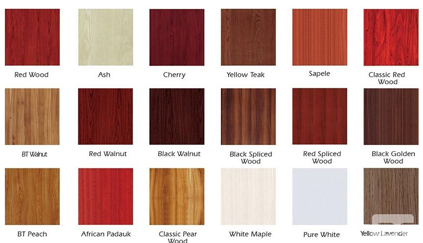 Melamine Door Color