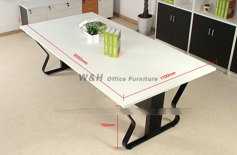 Minimalist Modern White Conference Table - White marble conference table